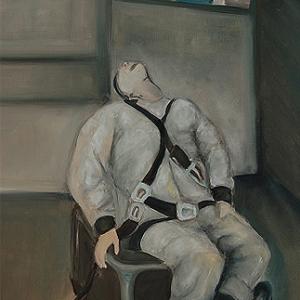 Gefangner Soldat | Kunstgemälde 2011-2014, 60x80cm