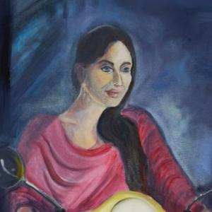 Kathrina Kapoor | Ölgemälde 2017, 60x88cm