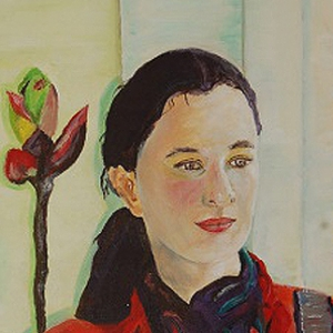Katrin Roeber | kleines Acrylgemälde 2005, 30x40cm