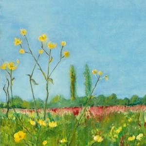 Meadow | Ölgemälde 2006-2009, 30x40cm
