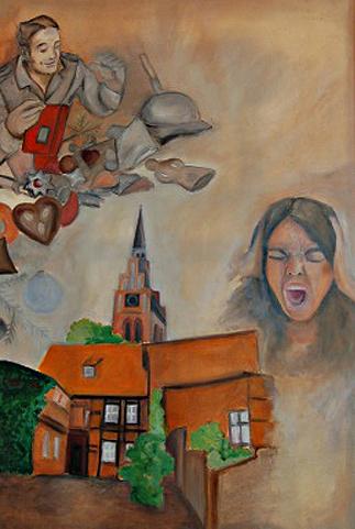 Memeroy and Present time   Kunstgemälde 2011-2014, 100x120cm