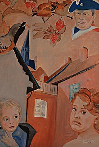 Mindestlohn   Kunstgemälde 2011-2014, 80x120cm