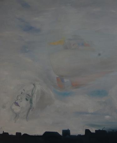 Let me go, Gabi  | Ölgemälde 2006-2009, 100x120cm